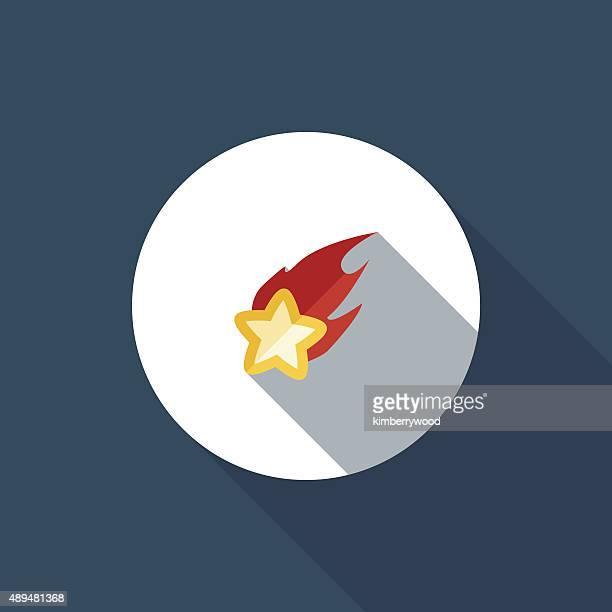 ilustraciones, imágenes clip art, dibujos animados e iconos de stock de tiro de star - llamas de fuego