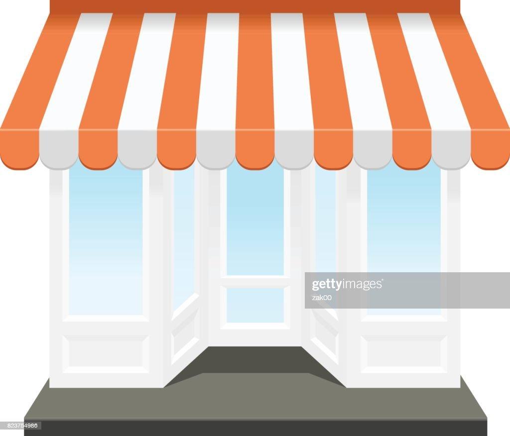 Shop-Symbol : Stock-Illustration