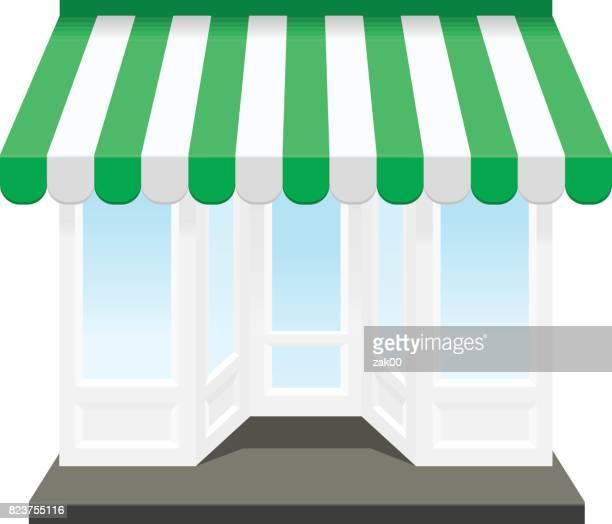 shop icon - boutique stock illustrations, clip art, cartoons, & icons