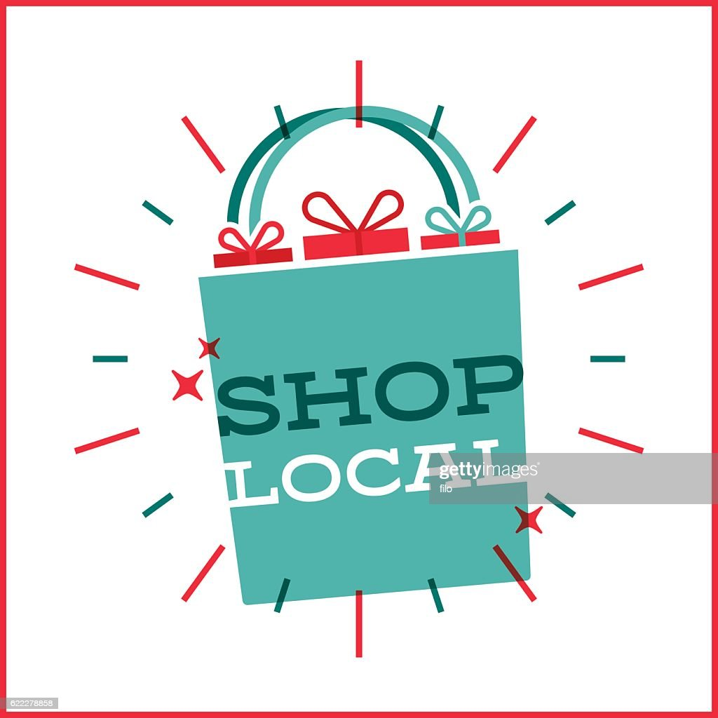 Shop Local Shopping Bag