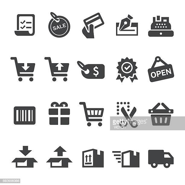 Shopping and Buying Icons - Smart Series
