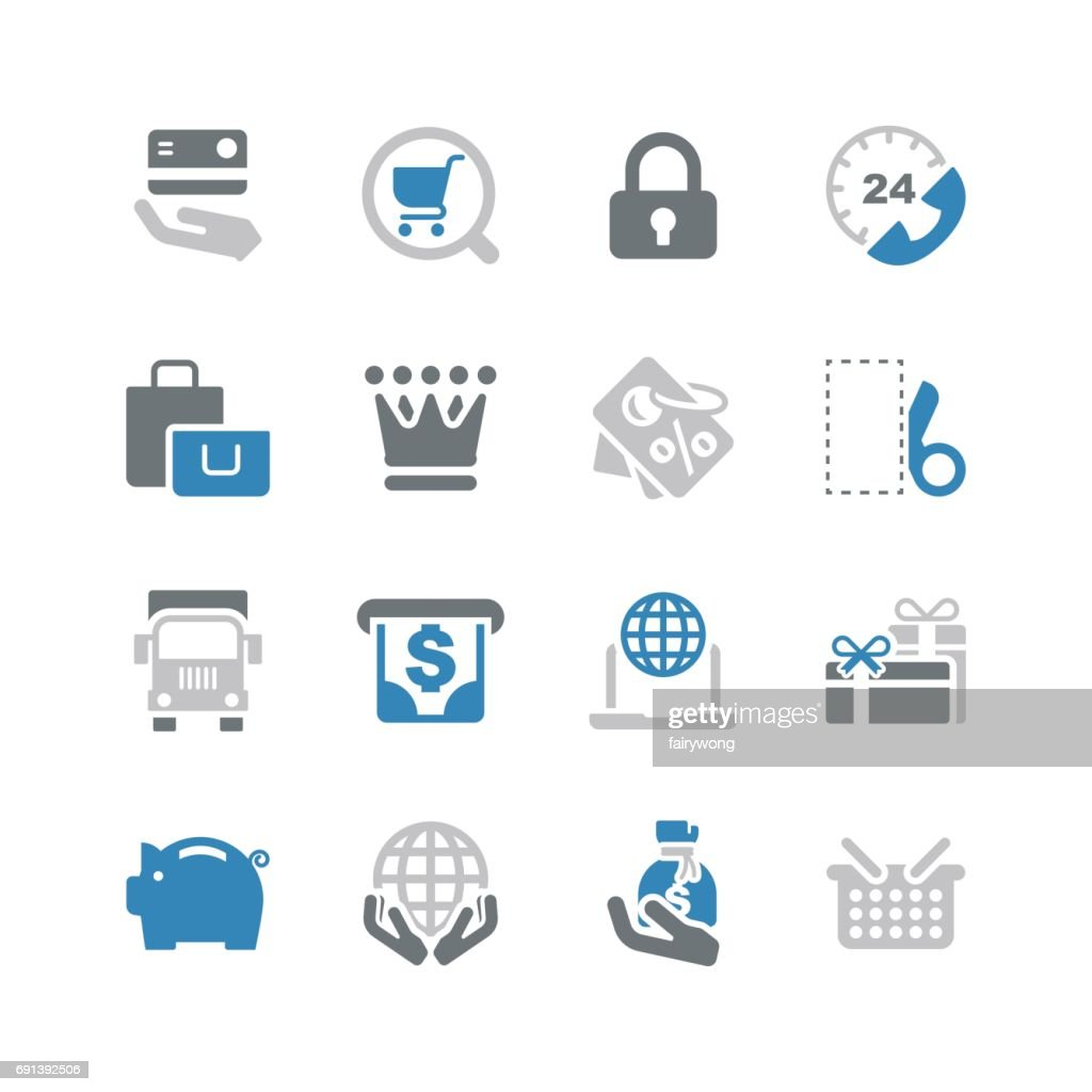 Shopping and Buying Icons