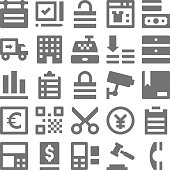 Shopping and Retail Vector Icons 3