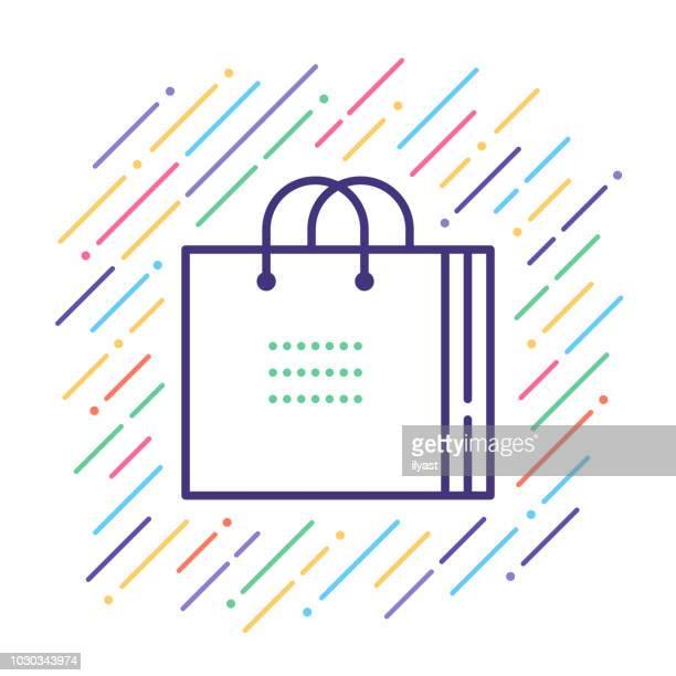 Bolsa de la compra de icono