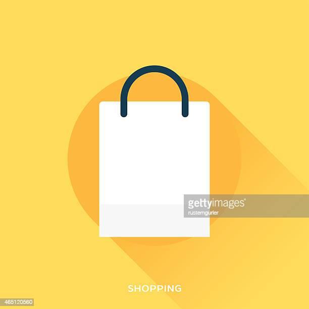 illustrations, cliparts, dessins animés et icônes de sac de shopping - sac
