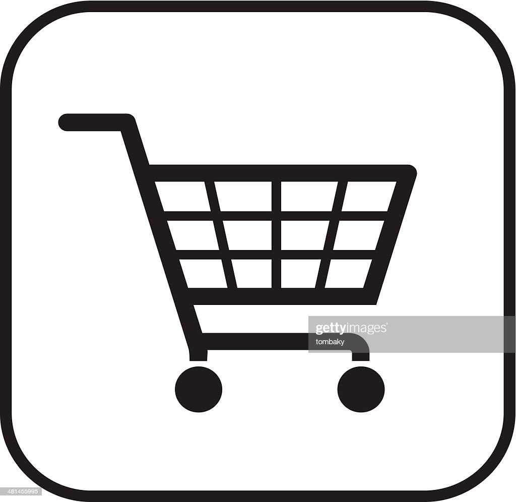 shopping basket-sign