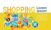 Shopping Buy Commerce Sale Discount Banner