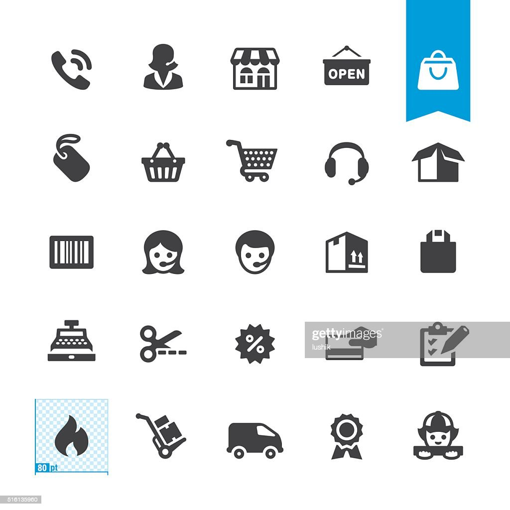 Shopping & Buying vector sign and icon
