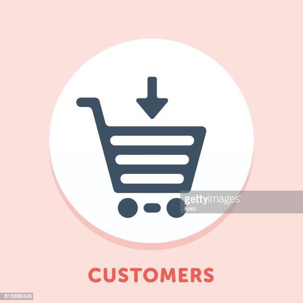 Shopping Cart Curve Icon