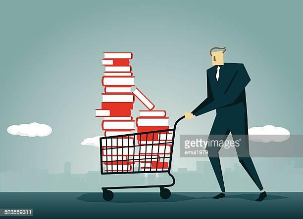 Shopping Cart,Book, Push Cart