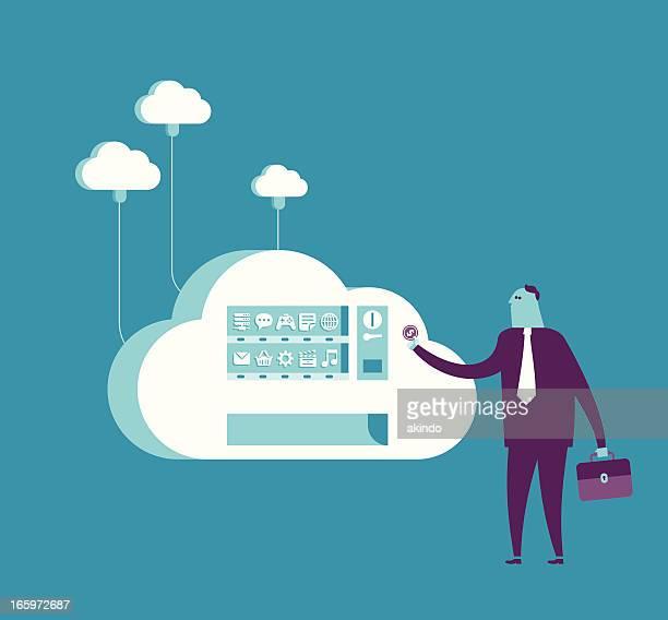 Boutiques du cloud Distributeur automatique
