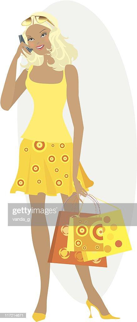 Shopping girl 11