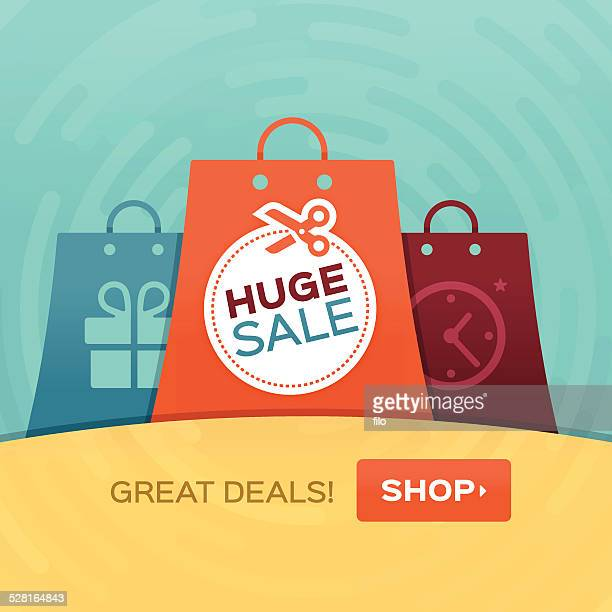 Shopping Huge Sale