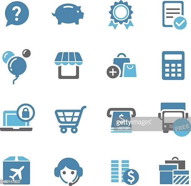 Shopping Icon - Conc Series