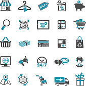 Shopping Icon Set