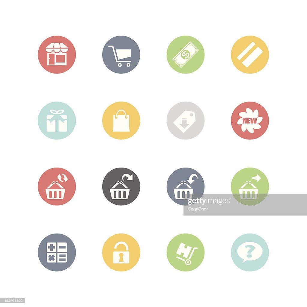Shopping Icons 2 : Minimal Style