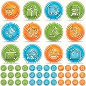 shopping icons - magico bola