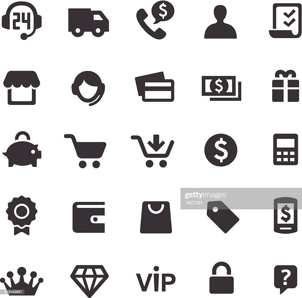 Shopping Icons - Smart Series
