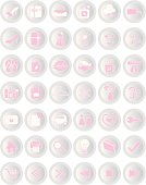 Shopping Icons ( Vector )
