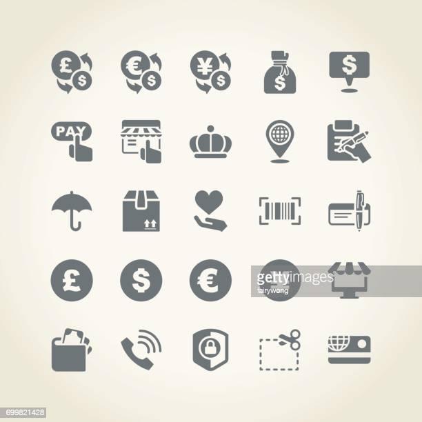 ilustraciones, imágenes clip art, dibujos animados e iconos de stock de iconos de compras - cheque