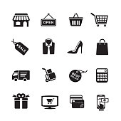 Shopping icons