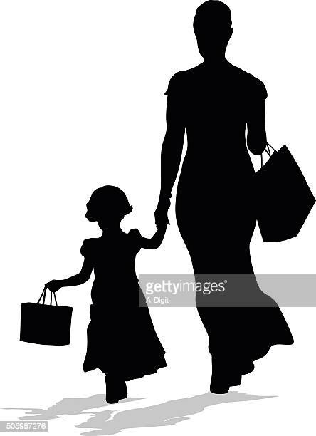 Shopping In Style With Daughter