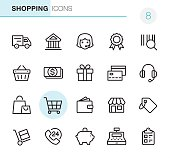 Shopping - Pixel Perfect icons