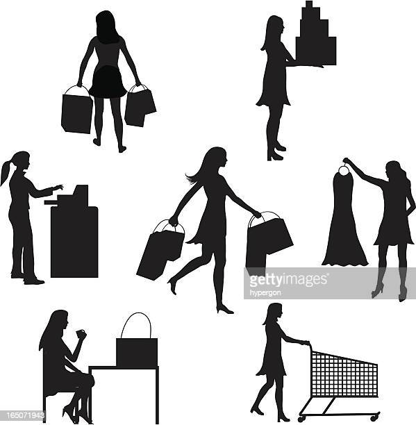 Shopping Silhouette Collection