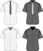 Short sleeve dress shirts