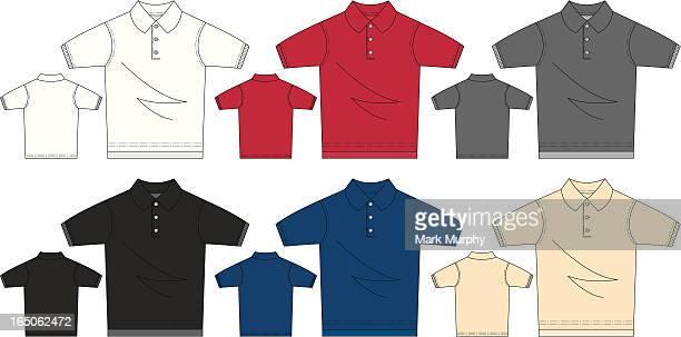 Short Sleeved Polo Pique Shirt