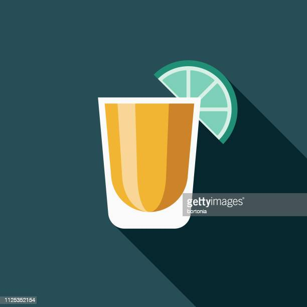 shot glass bartending icon - shot glass stock illustrations, clip art, cartoons, & icons