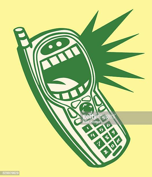 shouting phone - crying stock illustrations, clip art, cartoons, & icons