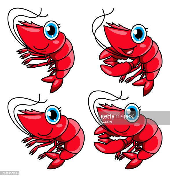 Shrimp and Lobster Cartoon