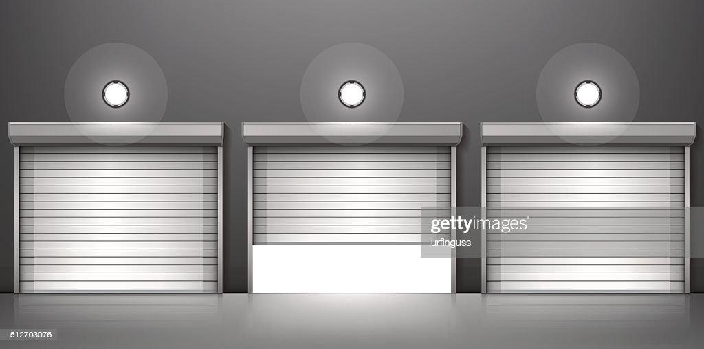 Shutter door or rolling door