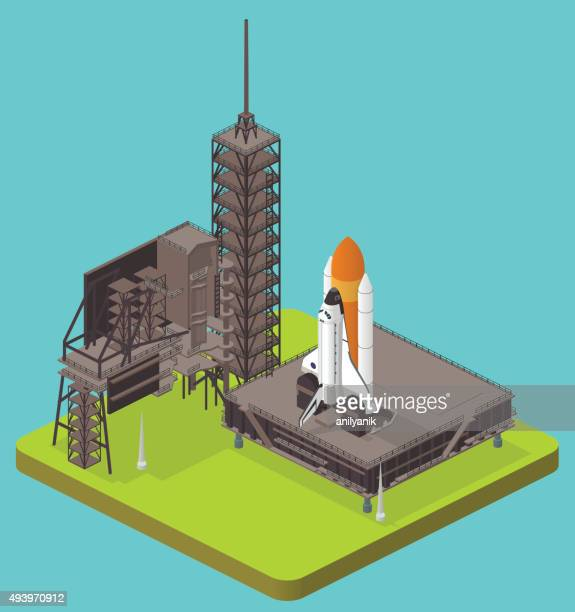 shuttle - - stapellauf stock-grafiken, -clipart, -cartoons und -symbole