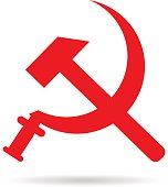 sickle and hammer  soviet  symbol   coat of arms