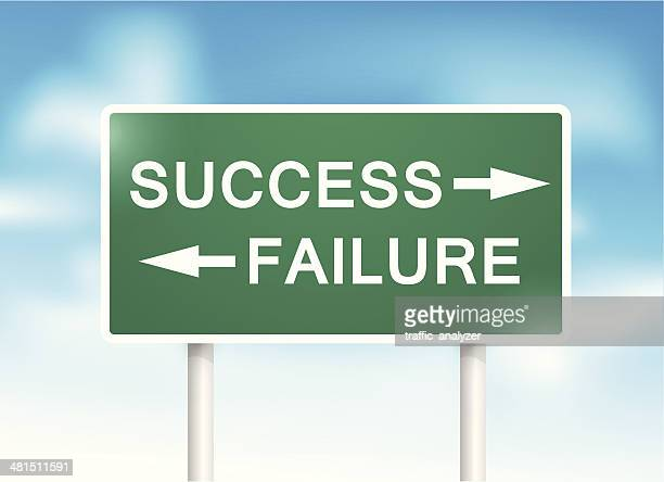 """sign """"success"""" and """"failure"""" over sky - signal flare stock illustrations, clip art, cartoons, & icons"""
