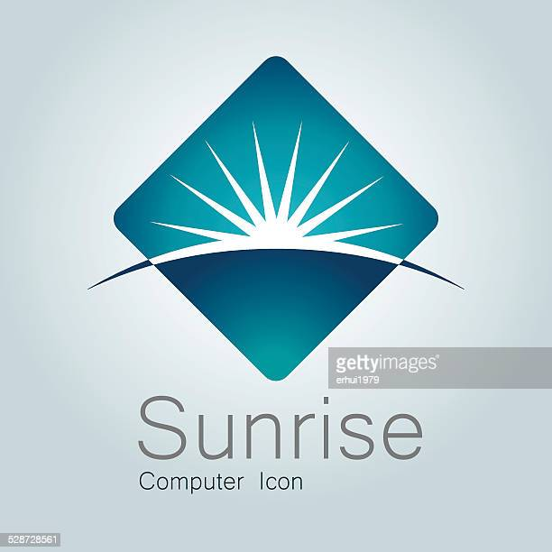 sign, sunrise, earth, globe,planet, horizon, modern logo - planet space stock illustrations