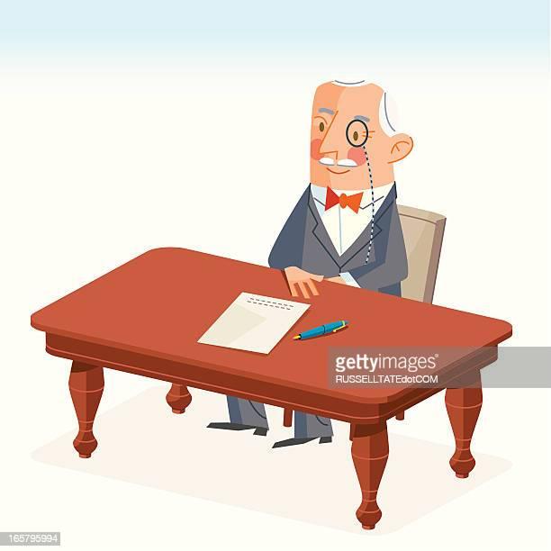 契約書に署名する - 証書点のイラスト素材/クリップアート素材/マンガ素材/アイコン素材