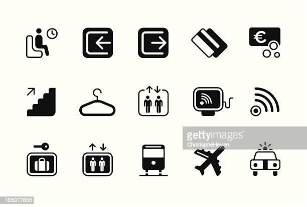 signage icons – black – part 3