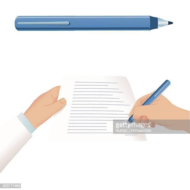 signature - gripping stock illustrations