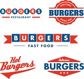 Signs and symbol, fast food restaurant