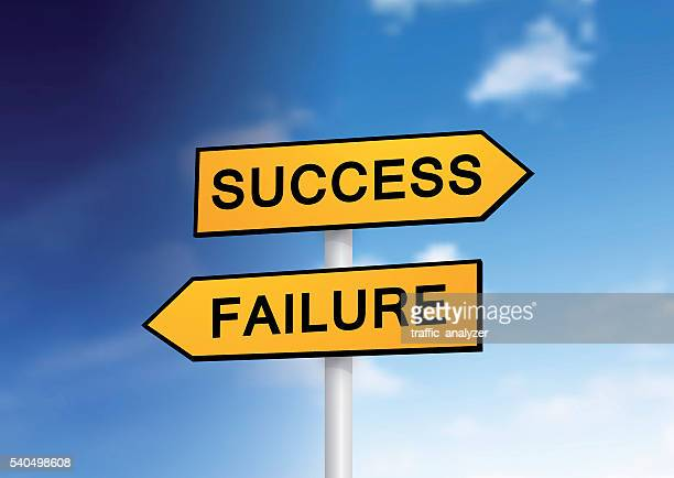 """signs """"success"""" and """"failure"""" over sky - signal flare stock illustrations, clip art, cartoons, & icons"""