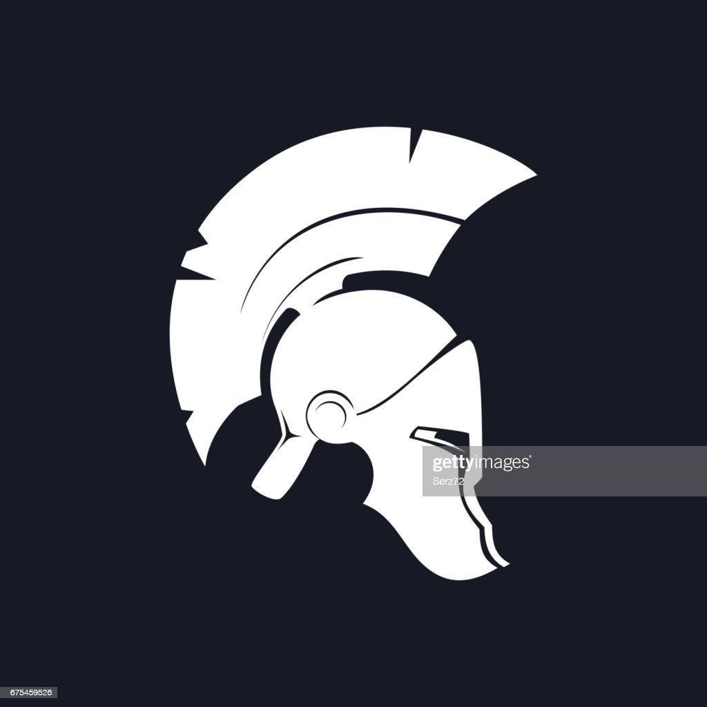 Silhouette Antiques Roman Helmet