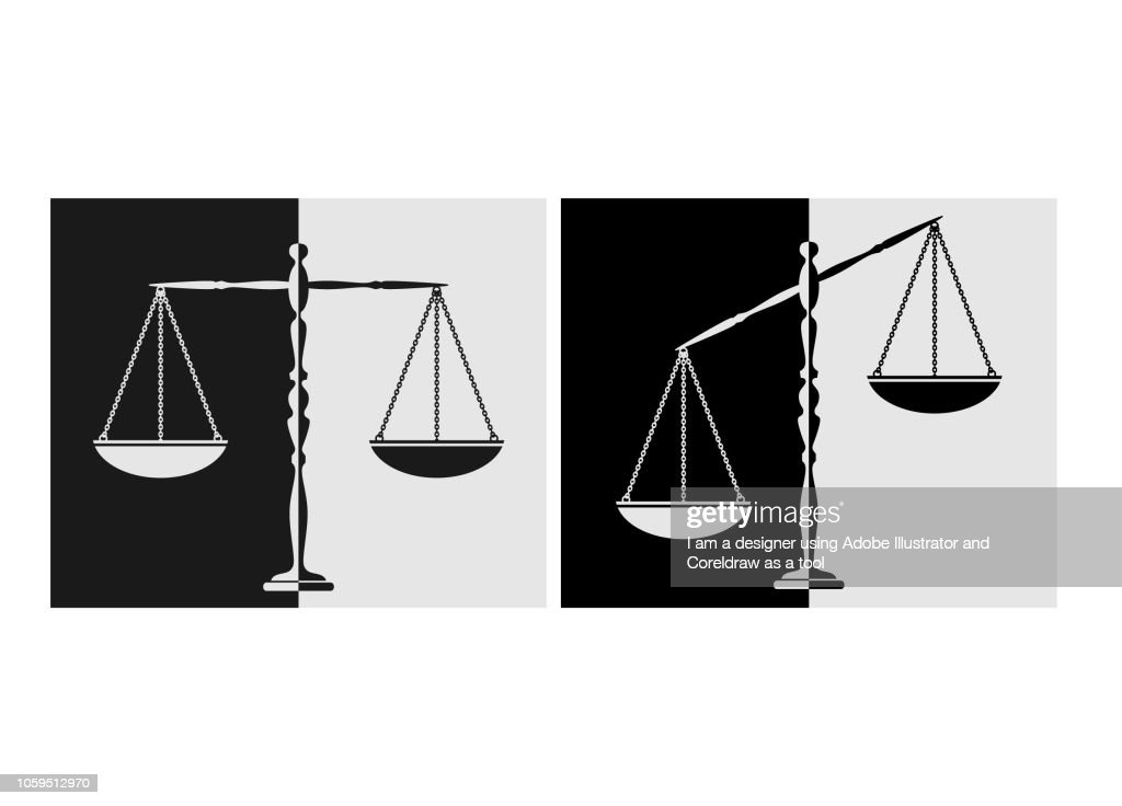 silhouette court scales