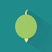 Silhouette icon gooseberry