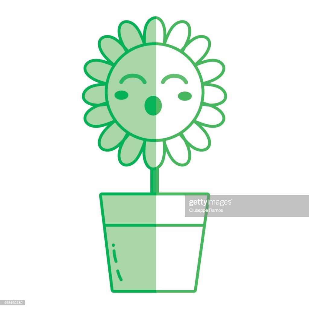 Silhouette kawaii beauty and funny flower plant vector art getty silhouette kawaii beauty and funny flower plant vector art izmirmasajfo