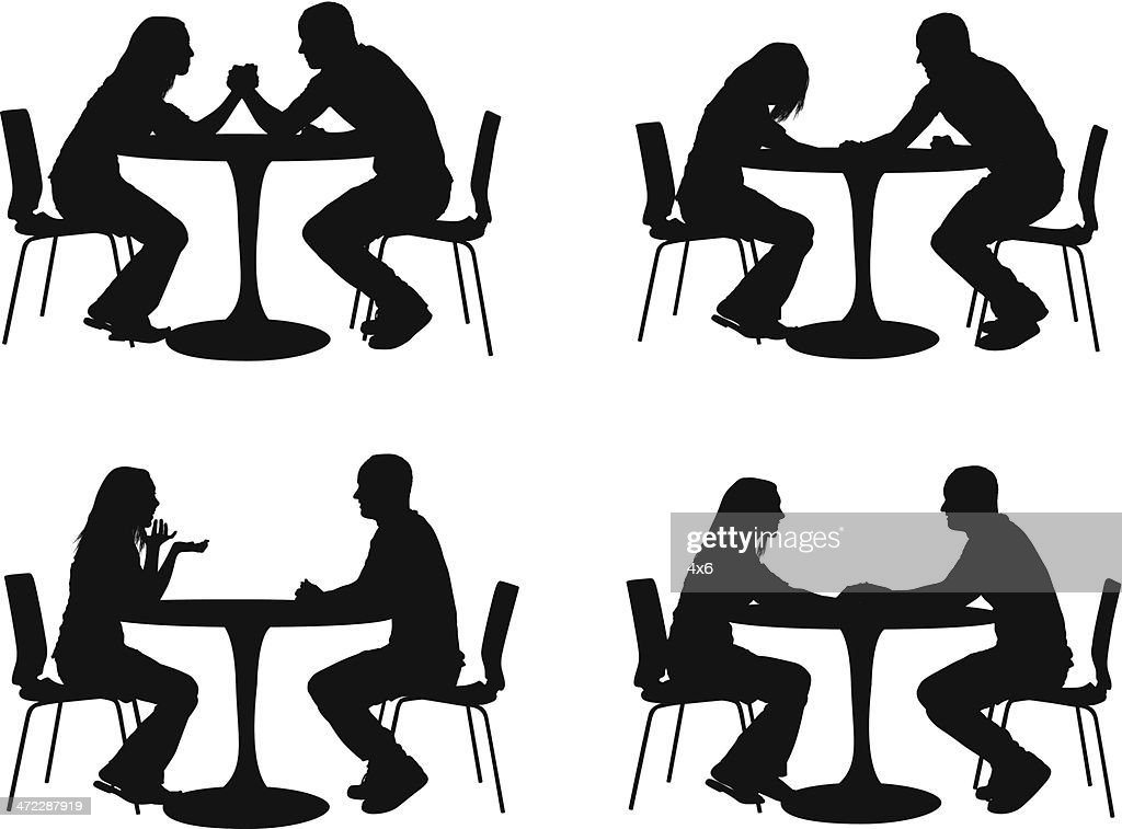 Silhouette Of Couples In A Restaurant Vector Art Getty  : silhouette of couples in a restaurant vector id472287919 from www.gettyimages.com size 1024 x 757 jpeg 168kB