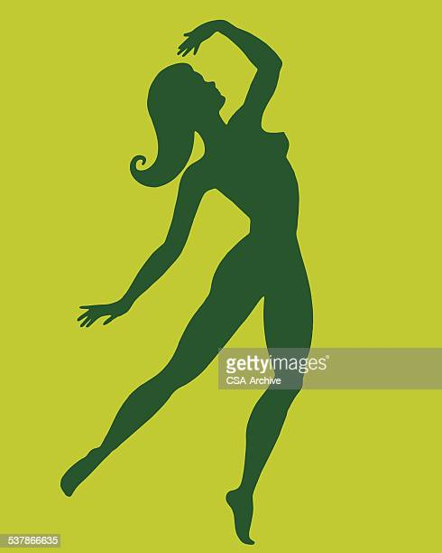 silhouette of woman - stag night stock illustrations, clip art, cartoons, & icons