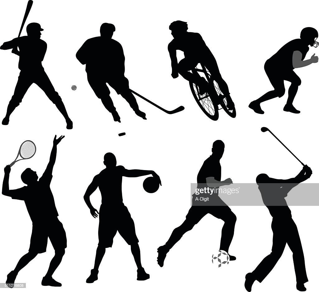 Silhouette Sport Variety